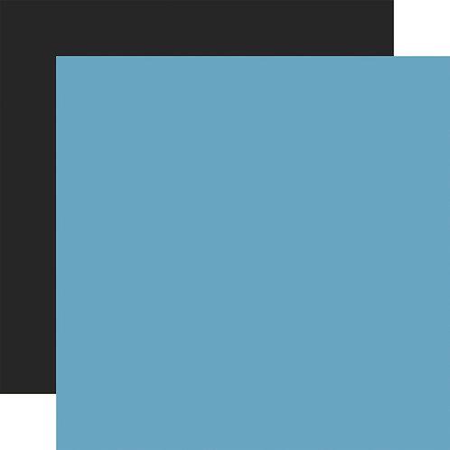 ECHO PARK Designer Solids - Blue/Black