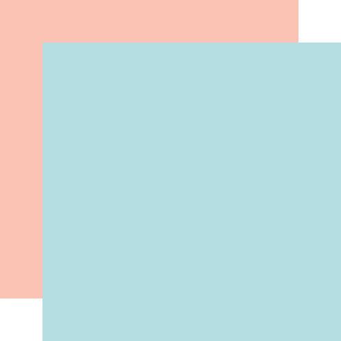 ECHO PARK Designer Solids - Light Blue/Light Pink