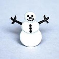 Eyelet Outlet Shaped Brads (12/pkg) - Snowmen