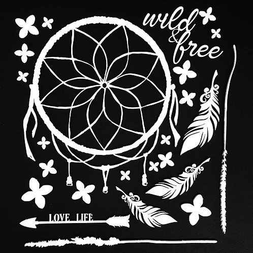 49 & MARKET Chipboard - Wild & Free