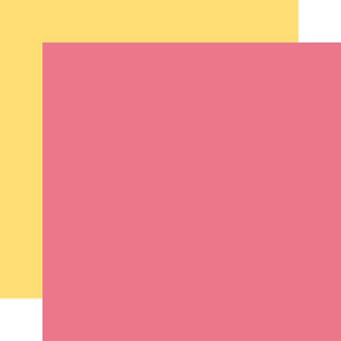 ECHO PARK Designer Solids - Pink/Yellow