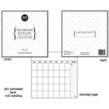 SRM PRESS 12x12 Blank Calendar