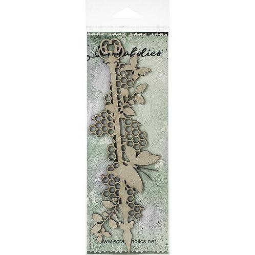 "SCRAPAHOLICS Chipboard Butterfly Medley (7.5""x2.5"")"