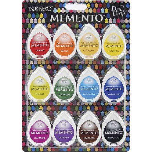 IMAGINE Dew Drop Dye Ink Pads 12/Pkg -Gum Drops