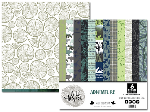 WILD WHISPERS Paper Pack - Adventure