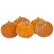 EYELET OUTLET Shaped Brads (12/pkg) - Pumpkins