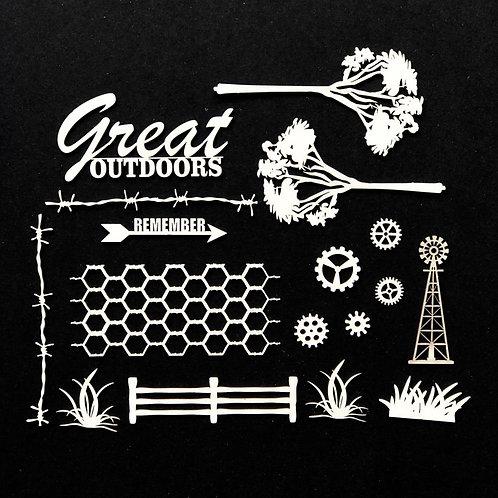 49 & MARKET Chipboard - Great Outdoors