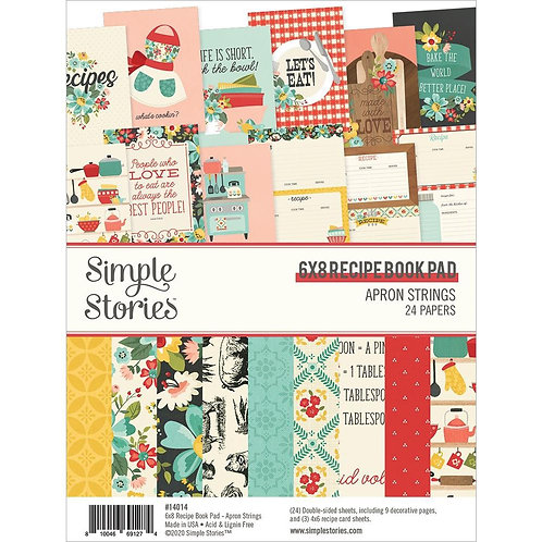 SIMPLE STORIES 6x8 Recipe Book Pad (2020)