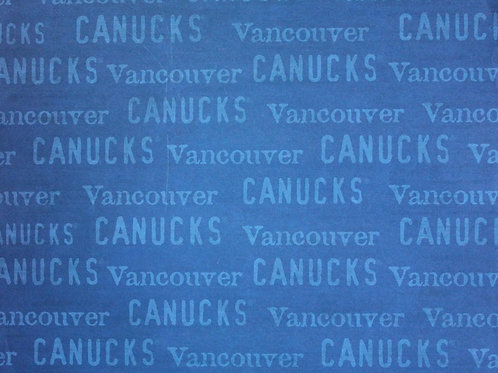 Vancouver Canucks - NHL 12x12 Paper