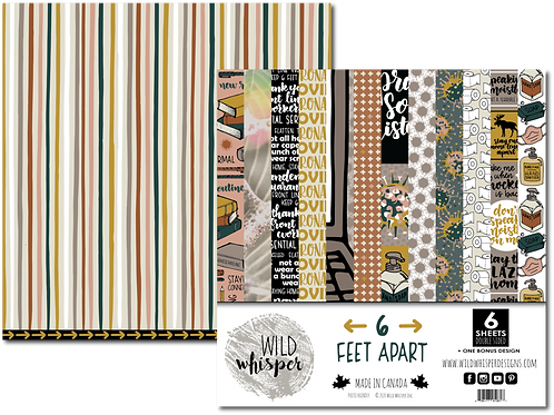 WILD WHISPERS Paper Pack - 6 Feet Apart