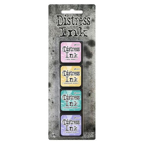 TIM HOLTZ Distress Mini Ink Pads 4/Pkg - Kit#4