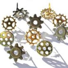 EYELET OUTLET Brads (12/pkg) - Gears