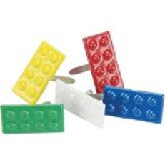 EYELET OUTLET Shaped Brads (12/pkg) - Blocks