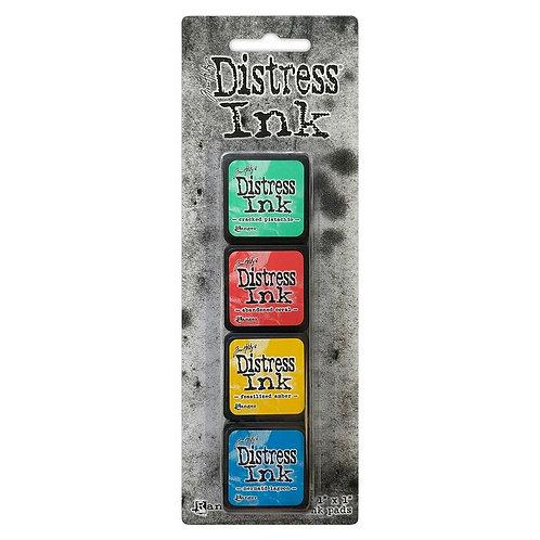 TIM HOLTZ Distress Mini Ink Pads 4/Pkg - Kit#13