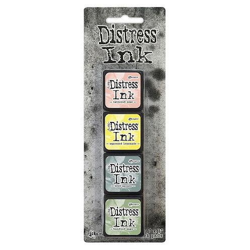 TIM HOLTZ Distress Mini Ink Pads 4/Pkg - Kit#10