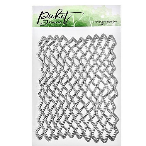 PICKET FENCE STUDIOS Die  - Netting Cover Plate