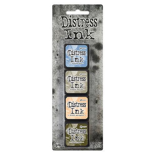 TIM HOLTZ Distress Mini Ink Pads 4/Pkg - Kit#9