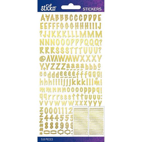 EK STICKO Foil Marker ABC