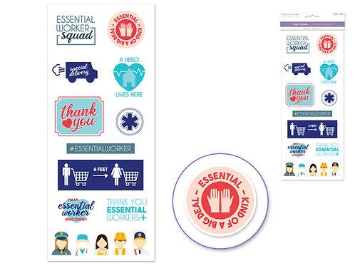 Essential Workers - PAPER CRAFT Sticker