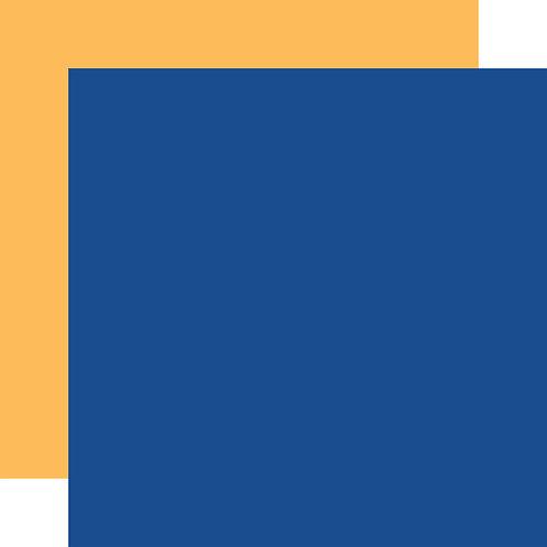 CARTA BELLA Designer Solids Blue/Yellow
