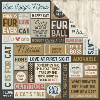 KAISER CRAFT Pawfect Collection - Meow