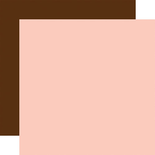 ECHO PARK Designer Solids - Light Pink/Brown