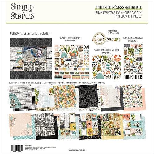 SIMPLE STORIES Essential Collection -  Farmhouse Garden