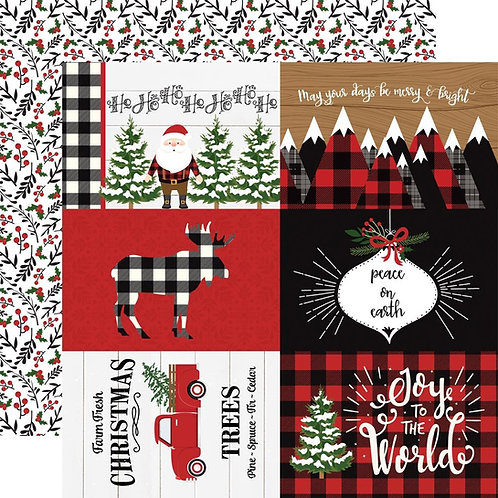 ECHO PARK 4x6 Journal Cards (A Lumberjack Christmas)