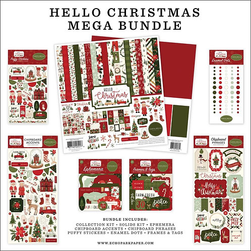 CARTA BELLA Mega Bundle  Hello Christmas (2020)