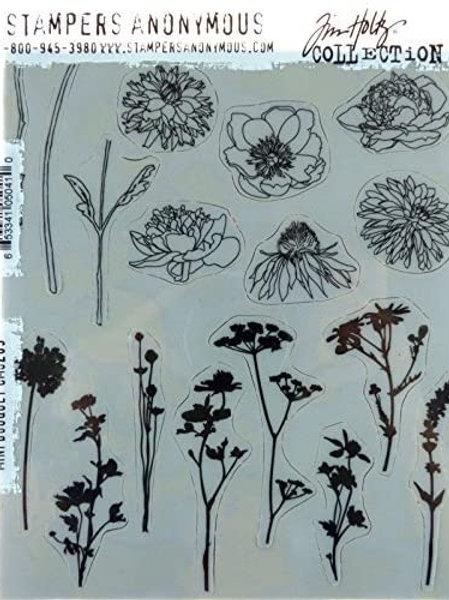 TIM HOLTZ Stamps - Mini Bouquet