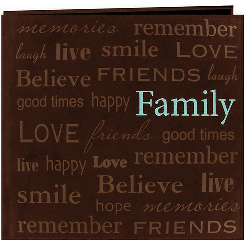 PIONEER 12x12 Suede Album - Family