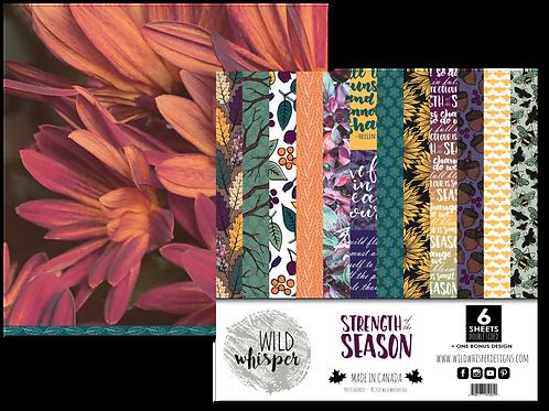 WILD WHISPER Paper Pack - Strength of the Season