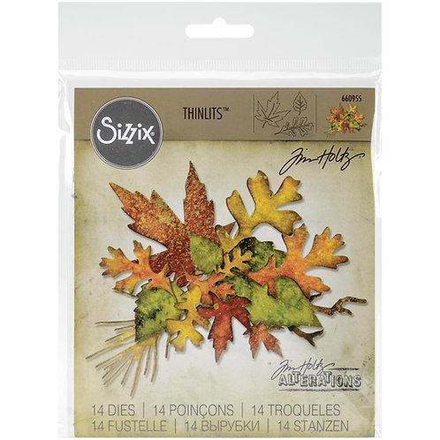 SIZZIX Thinlets Fall Foliage