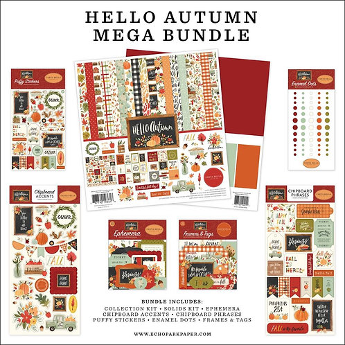 CARTA BELLA - Hello Autumn Mega Bundle