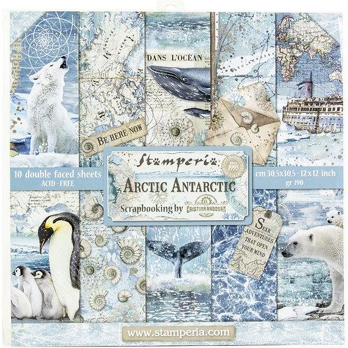 STAMPERIA Paper Pad - Arctic Antarctic