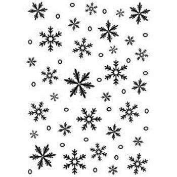 DARICE Embossing Folder(5x7) - Snowflakes
