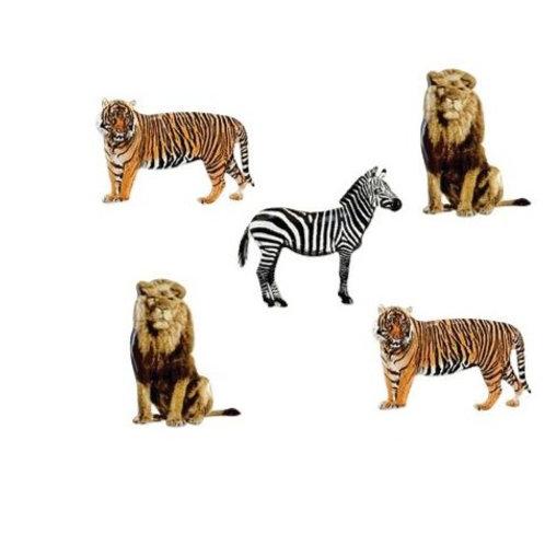 EYELET OUTLET - Zebra, Lions & Tigers (12/pkg)