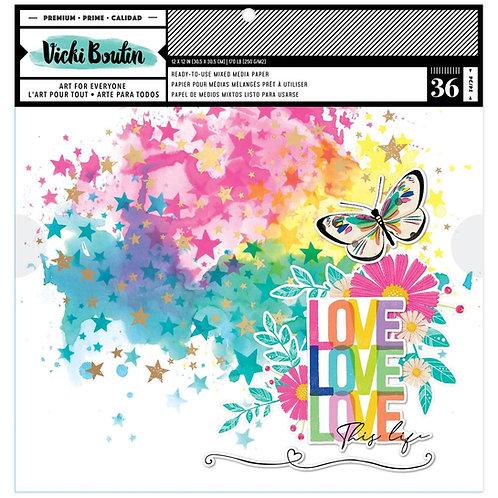 VICKI BOUTIN Paper Pad - Color Study