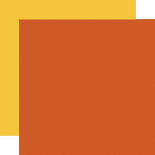 ECHO PARK Designer Solids - Orange/Yellow