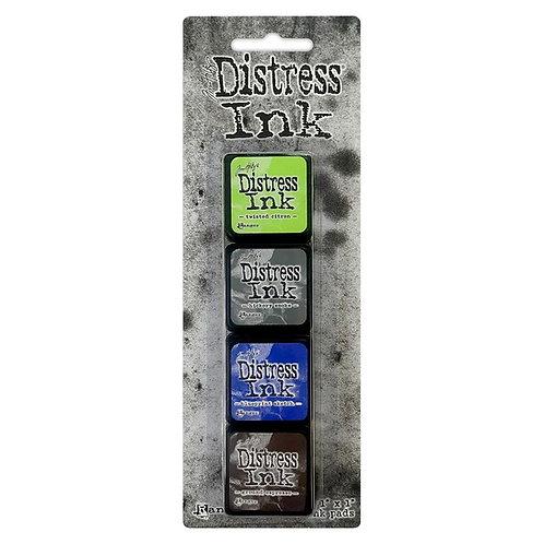 TIM HOLTZ Distress Mini Ink Pads 4/Pkg - Kit#14