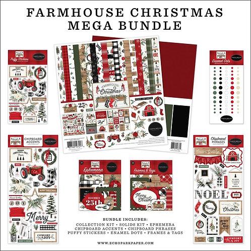CARTA BELLA  Farmhouse Christmas Mega Bundle (2020)