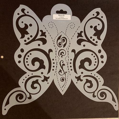 TCW Stencil - Butterfly