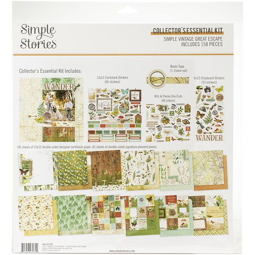 SIMPLE STORIES Collector's Essential Kit  SV Great Escape (2020)