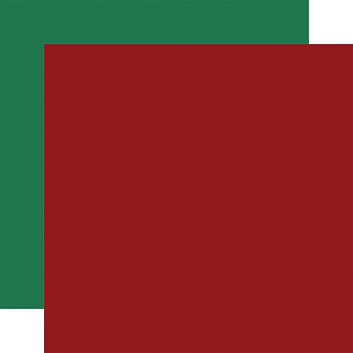 ECHO PARK Designer Solids - Red/Green1