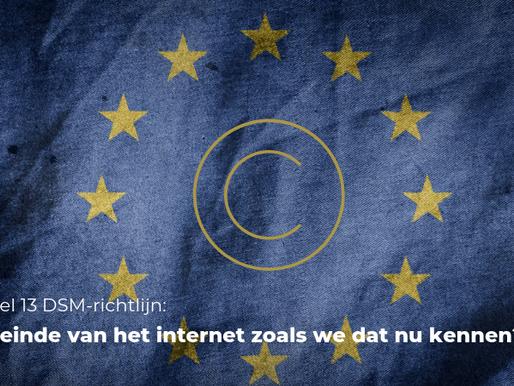 Artikel 13 DSM-richtlijn: het einde van het internet zoals we dat nu kennen?