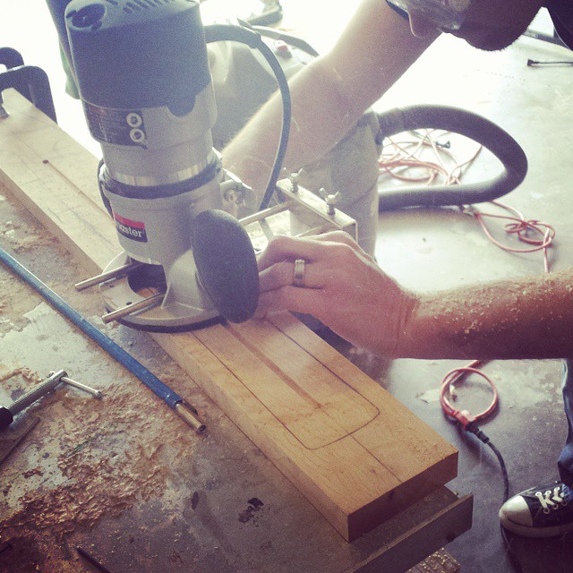Routing for the Truss Rod