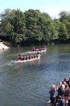 Bath Dragon Boat Mountain Way Charity