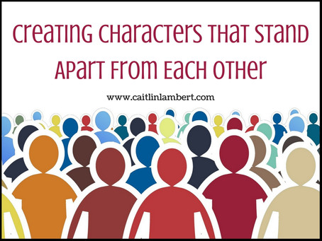 Creating Characters That Stand Apart From Each Other