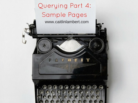 Querying: Part 4 - Crafting Your Sample Pages