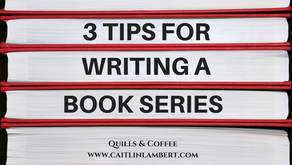 3 Tips for Writing a Book Series